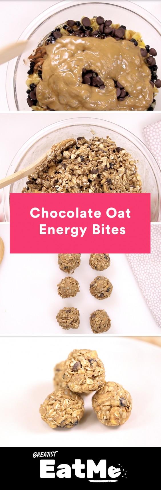 Eat Me Video: Chocolate Oat Energy Bites