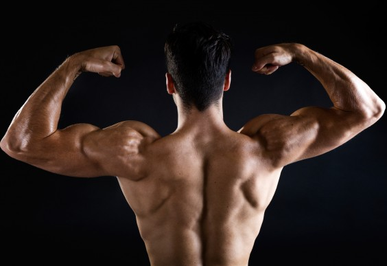 how to get rid of muscular arms and shoulders