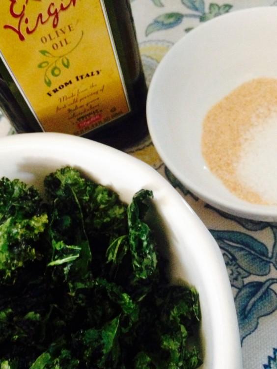 Dorm Food: Microwave Kale Chips Part 24