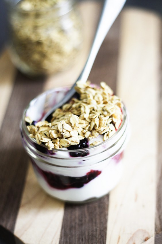 Dorm Food: Yogurt Parfaits