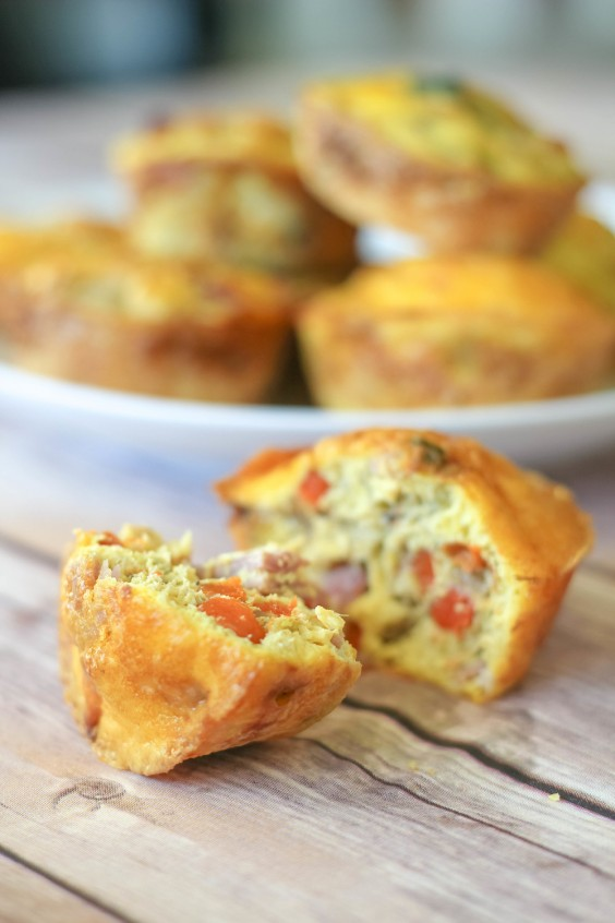 Muffin Tin: Paleo Omelette