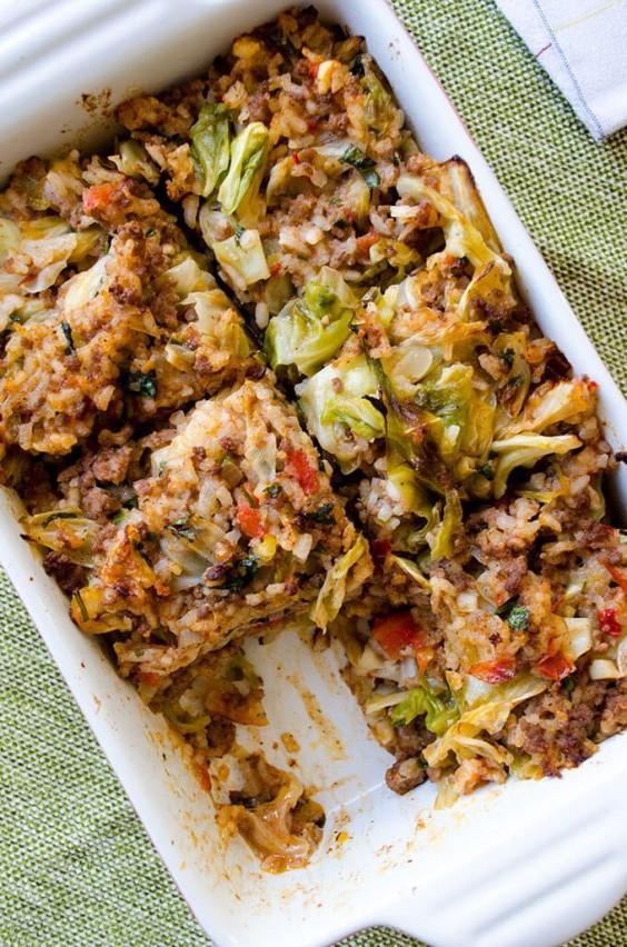 Healthy Casseroles: Unstuffed Cabbage