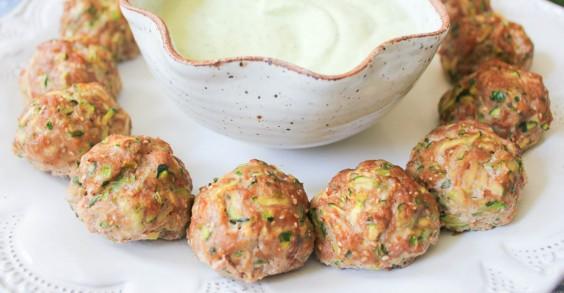 Turkey and Zucchini Meatballs