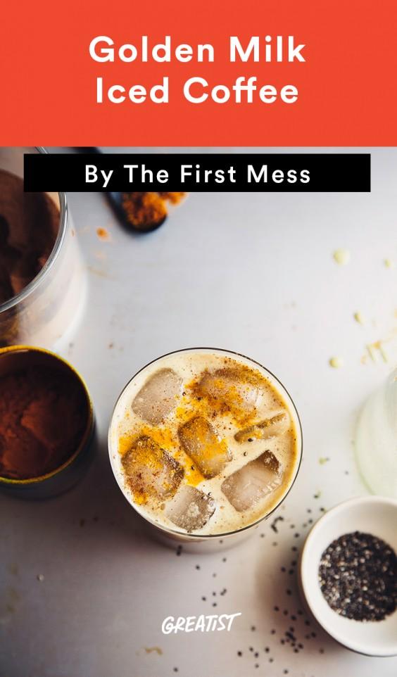 First Mess roundup: Golden Milk Iced Coffee