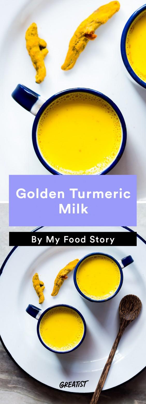 my food story: Golden Turmeric Milk
