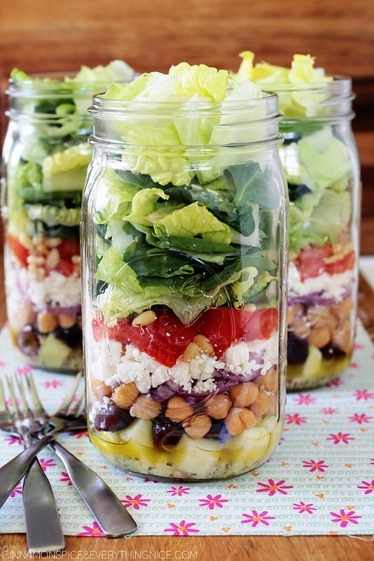 Mason Jar Meals 27 Healthy Salads Breakfasts More