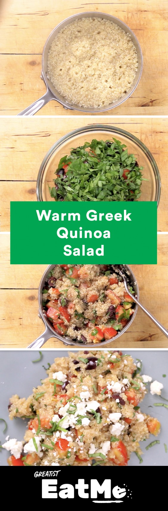 Eat Me Video: Greek Quinoa