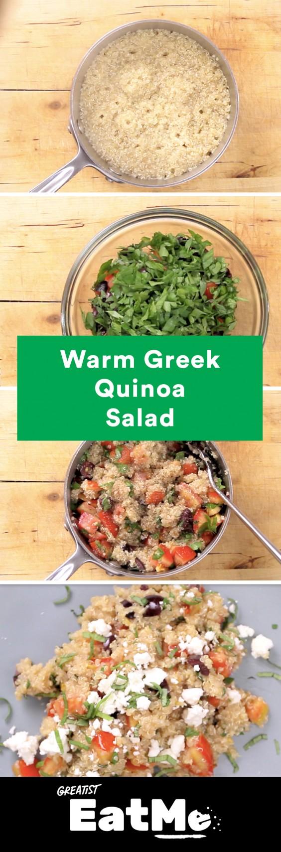 Eat Me Video: Greek Quinoa