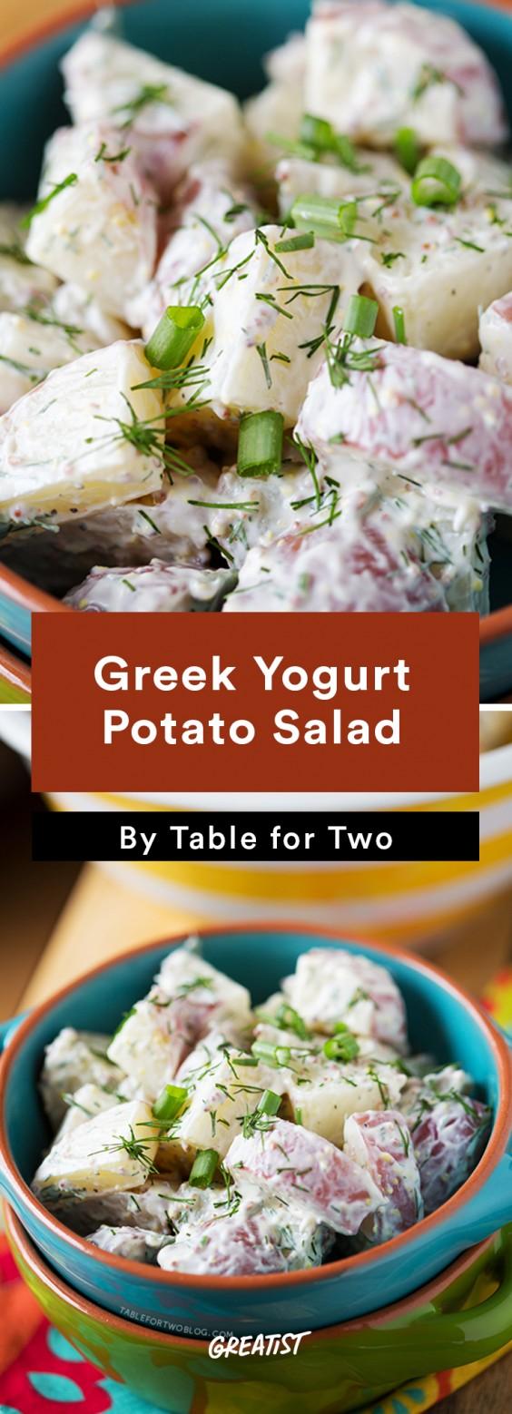 BBQ Classics: Greek Yogurt Potato Salad