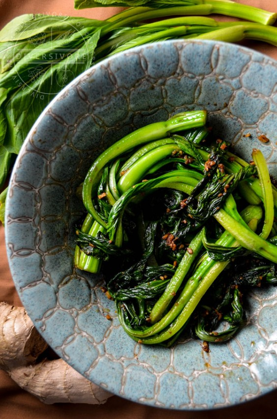 Stir-Fried Chinese Greens