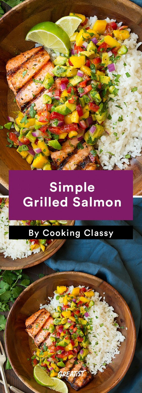 Salmon: Grilled
