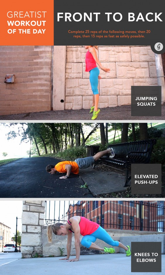 Greatist Workout of the Day: March 12, 2015