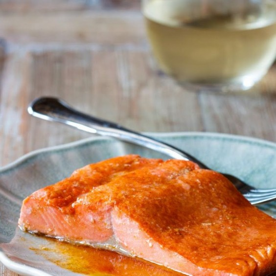 Dorm Food: Paprika Salmon