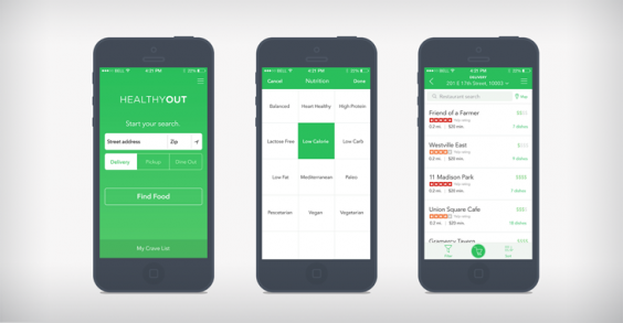 This App Makes Ordering Healthy Takeout a No-Brainer