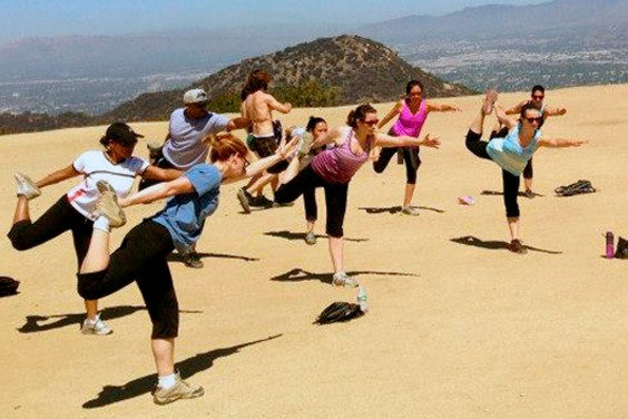 Hiking Yoga