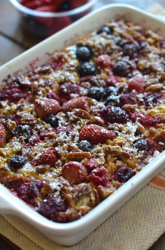 Honey Berry Oatmeal