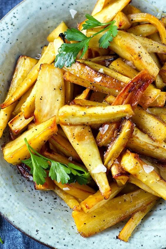 sweet veg: Honey-Roasted Parsnips