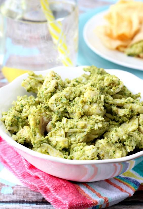 leftover hummus: Chicken Salad