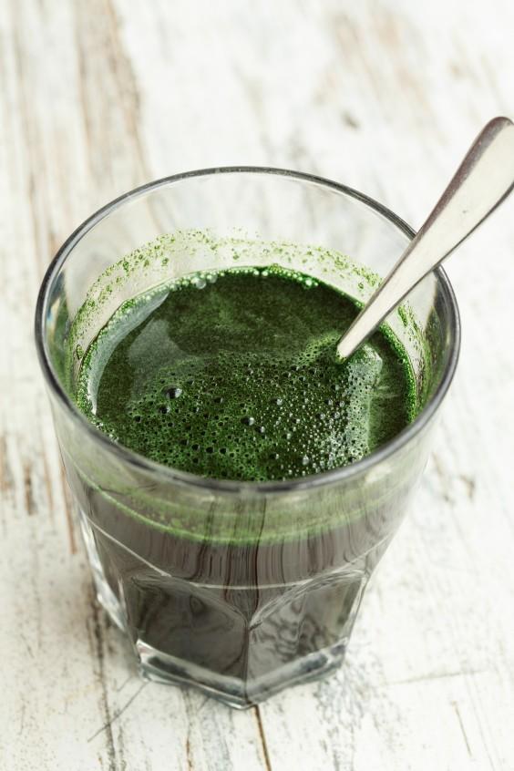 food trends: chlorophyll water