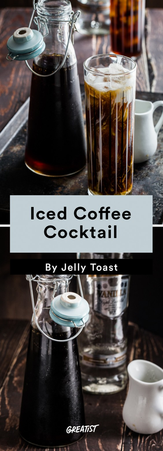 Leftover coffee: Cocktail