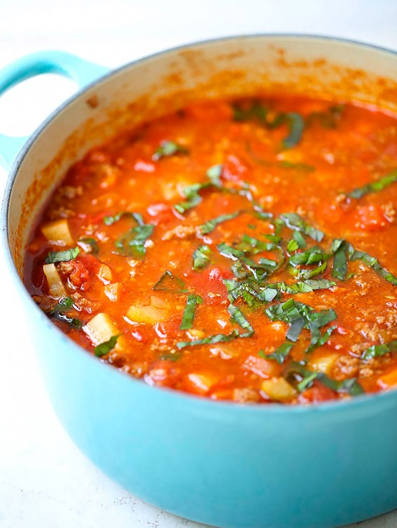 Whole30 Dinner Recipes: Hearty Vegetable Soup