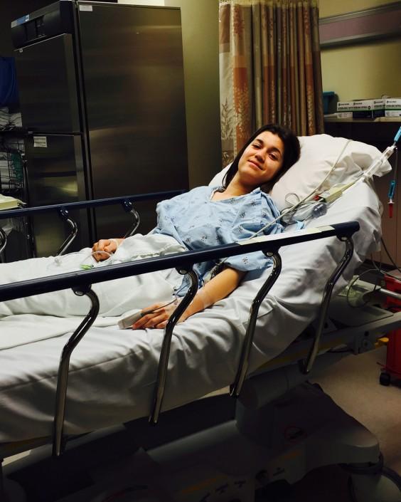 Jane Redford in Hospital