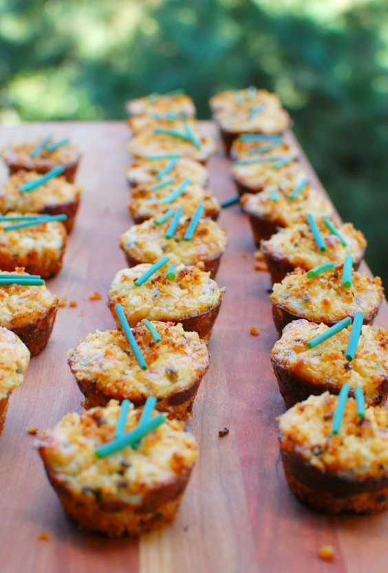 Muffin Tin: Crab Cakes