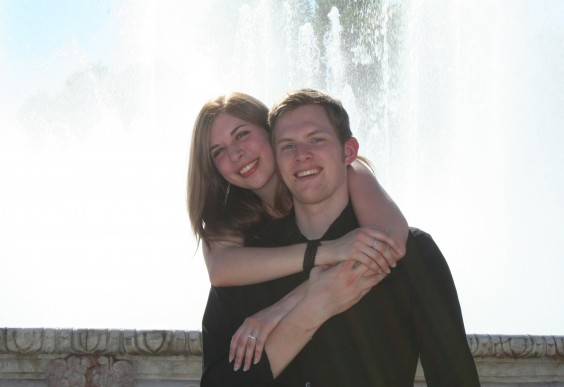 Joey and Joran in Spain
