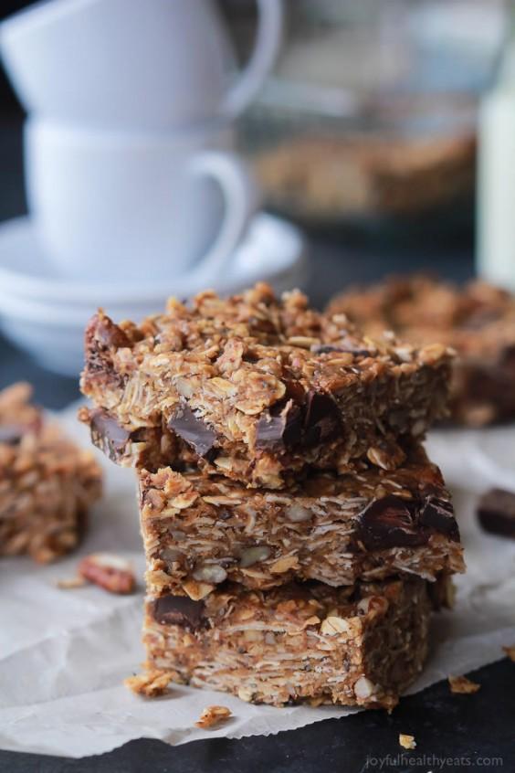 Dorm Food: Peanut Butter Chocolate Bars
