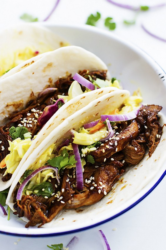 Slow cooker: Tacos