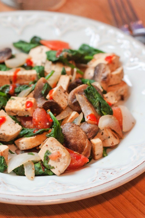 24. Lean and Green Tofu Stir-Fry