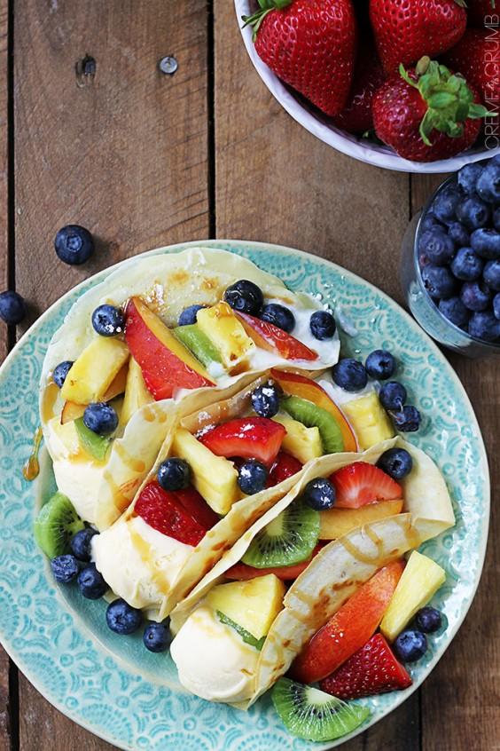 Healthy Tacos: Easy Summer Dessert Tacos