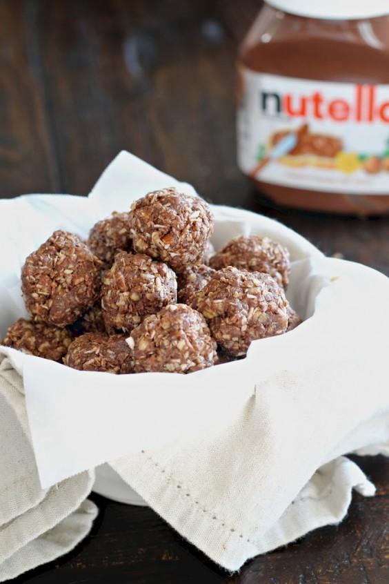 Dorm Food: Nutella Energy Bites Part 50