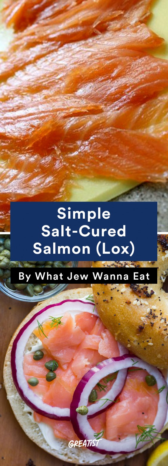 Salmon: Salt-Cured