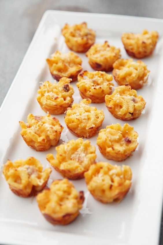Bacon Mac and Cheese Bites