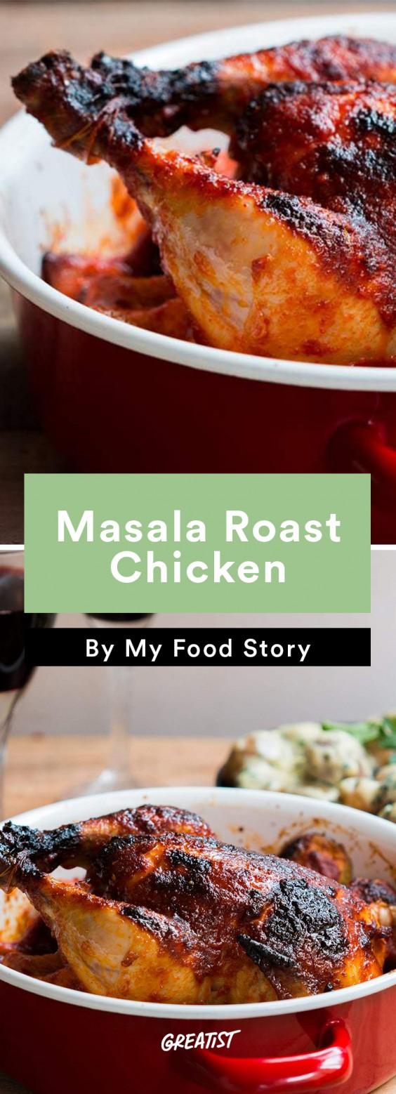my food story: Masala Roast Chicken