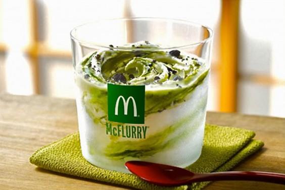 McDonald's Matcha Oreo McFlurry