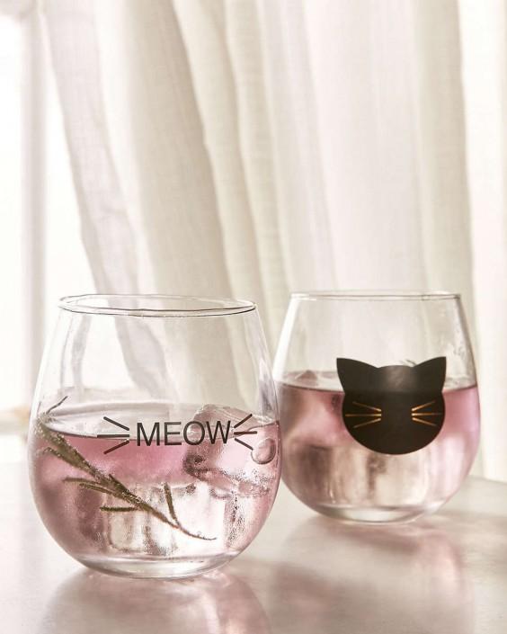 Meow Wine Glasses