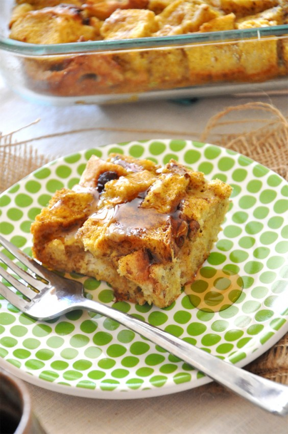 Thanksgiving Breakfast: French Toast Casserole