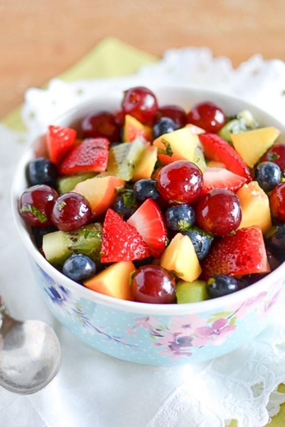 Picnic: Mojito Fruit Salad