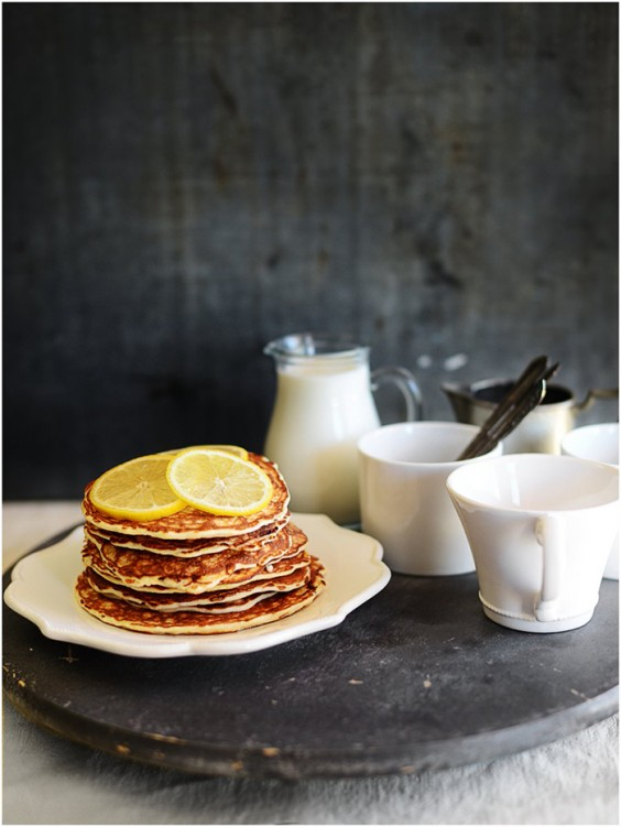 Protein Pancakes: Lemon Chia