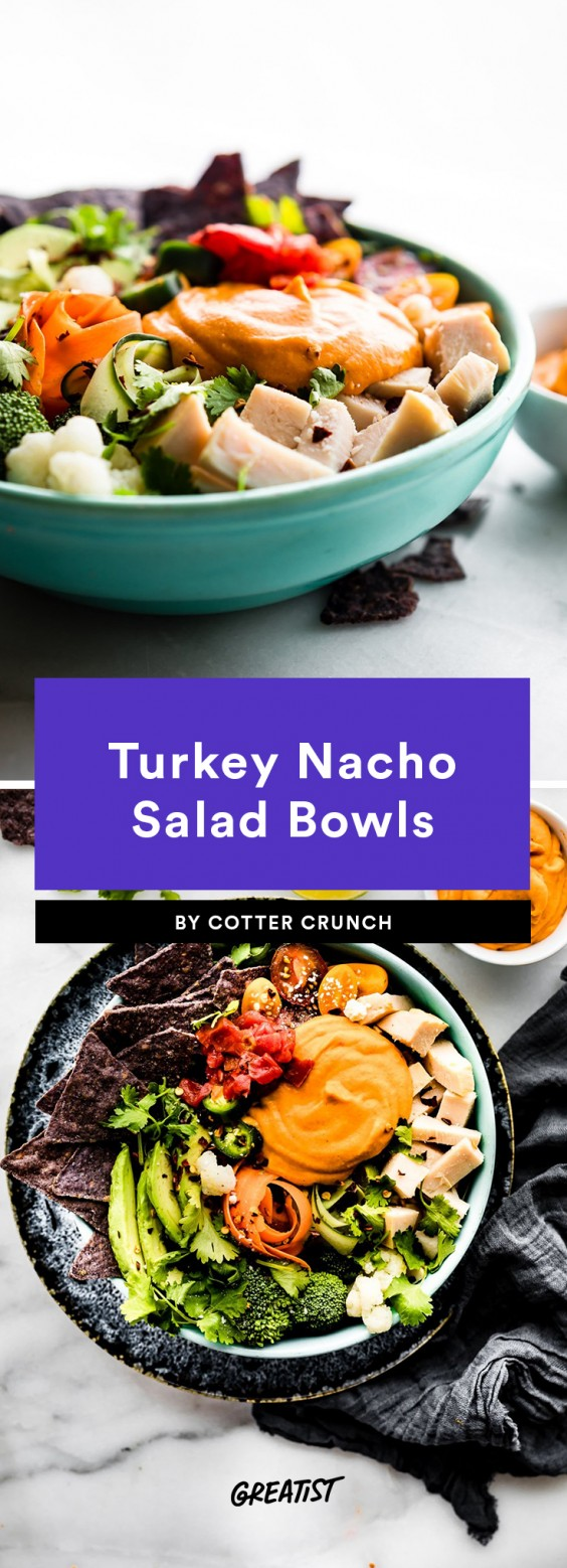 nacho salad bowl