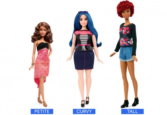 The Doll Now Comes in Curvy, Tall, and Petite