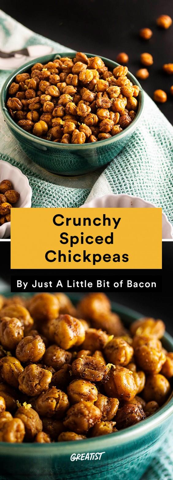 No-Cooler Snacks: Chickpeas