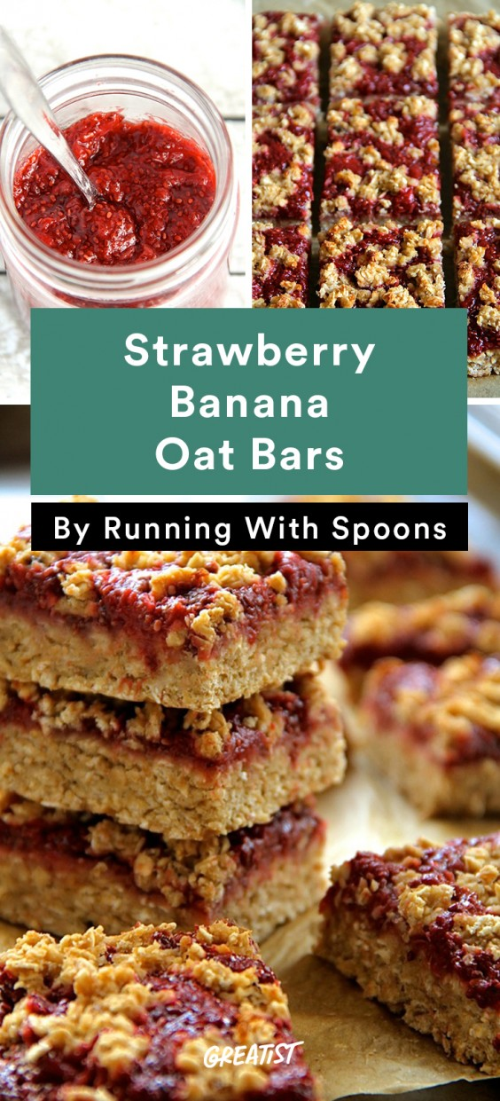 No-Cooler Snacks: Banana Oat Bars