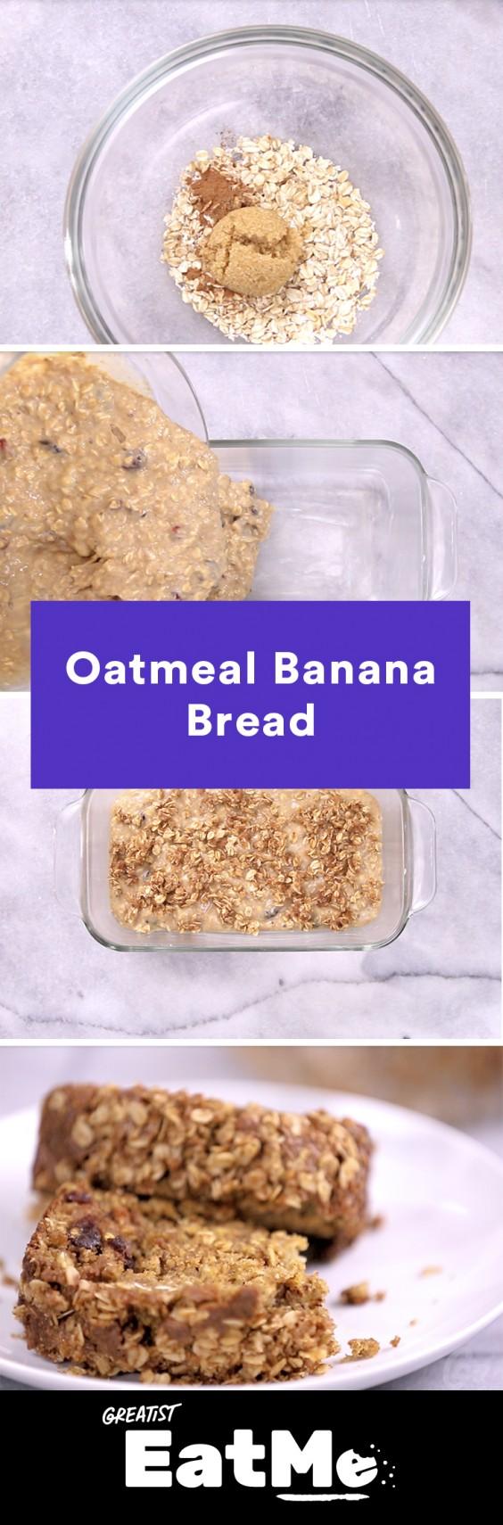 Eat Me Video: Oatmeal Banana Bread