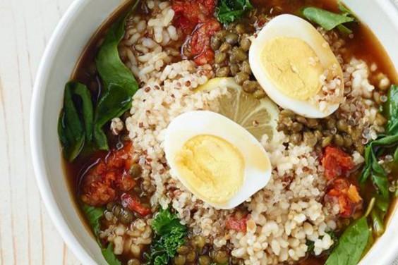 Panera: Lentil Quinoa Bowl