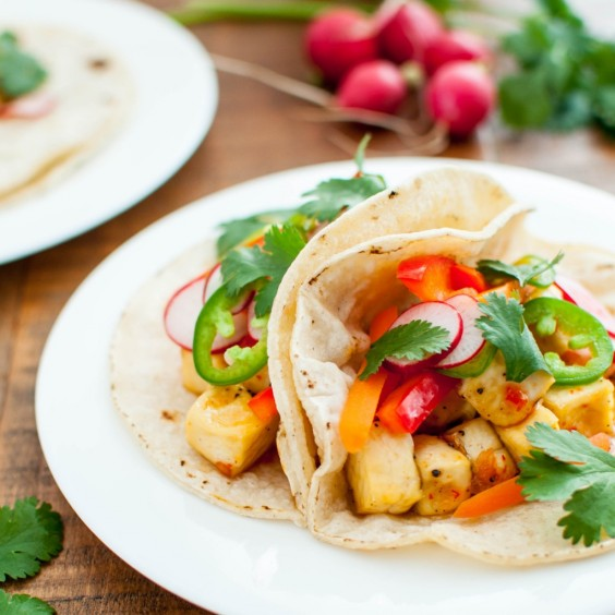 Healthy Tacos: Crispy Tofu Bahn Mi