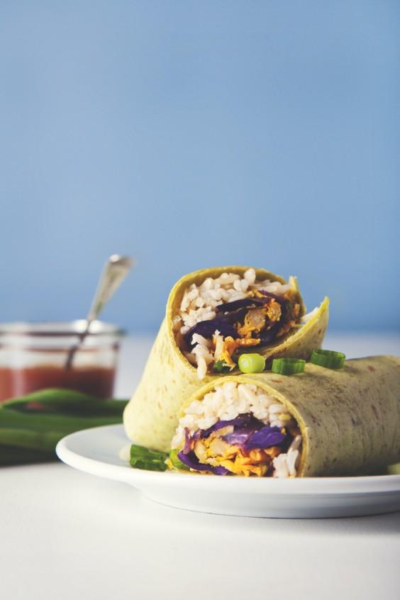 Freezer Meals: Vegan Burritos