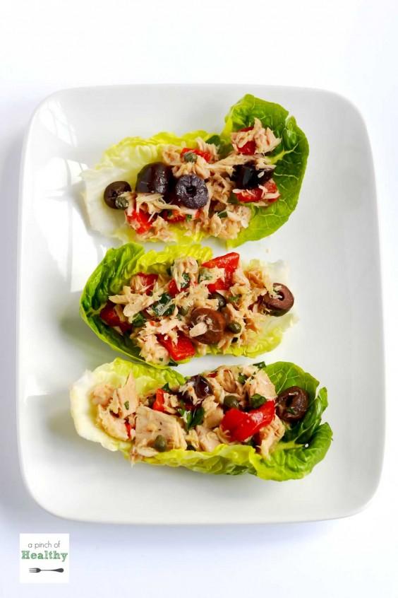 Dorm Food: Mediterranean Tuna Salad
